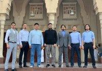 Камиль хазрат Самигуллин встретился с татарской молодежью Дубая