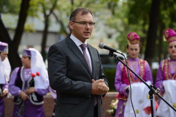 Имам-хатыб мусульманской общины Финляндии Рамиль Беляев