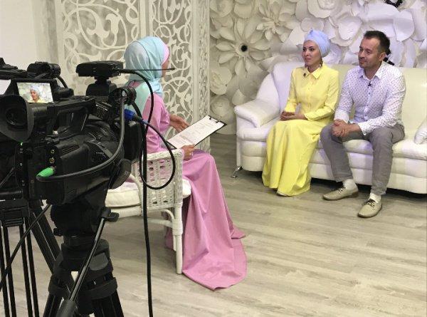 Новая программа в эфире первого мусульманского телеканала Татарстана.