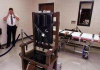 В США осужденного казнили на электрическом стуле впервые за пять лет