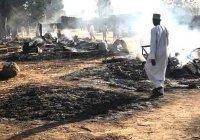 В Нигерии террористы заживо сожгли имама мечети