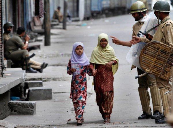 В Индии продолжаются гонения мусульман.