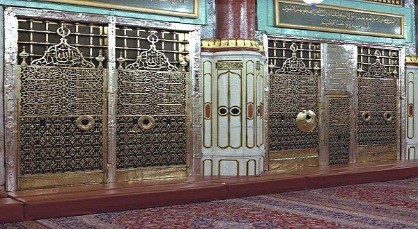 Могила Пророка Мухаммада (мир ему)