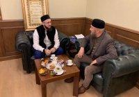 Камиль Самигуллин встретился с муфтием Азиатской части России