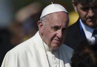 Папа Римский призвал к миру в Сирии и Ираке