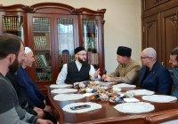 Муфтий встретился с делегацией из Дагестана