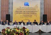 Участники заседания ГСВ «Россия - Исламский мир» приняли резолюцию