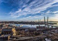 Во Владивостоке мужчины «проехали» по мосту в костюме автобуса (ВИДЕО)