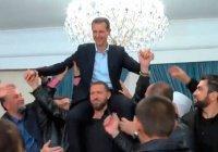 Сирийцы необычно отблагодарили Башара Асада за освобождение от ИГИЛ (Видео)