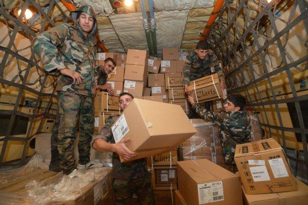 Ингушетия отправит гуманитарную помощь в Сирию