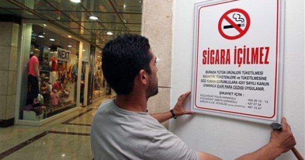 Запрет на рекламу сигарет вступил в силу в Турции.