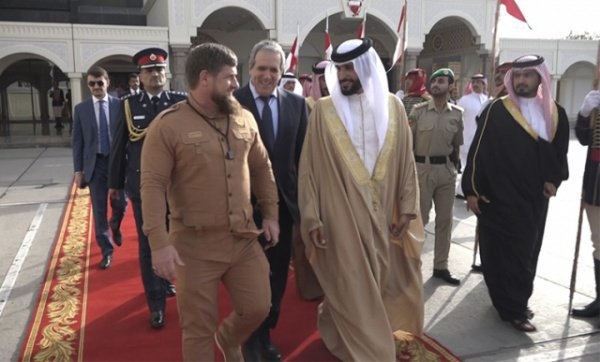 Кадыров в Бахрейне в 2017 году.