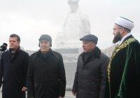 Минниханов и Шаймиев открыли в Казани памятник Шигабутдину Марджани