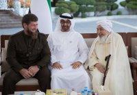 Кадыров встретился с наследным принцем Абу-Даби