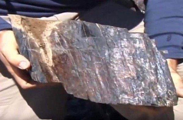 Окаменелые остатки предположительно Ноева ковчега.