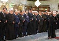 Башар Асад принял участие в торжествах по случаю дня рождения Пророка Мухаммада