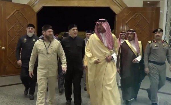 Рамзан Кадыров в Саудовской Аравии.