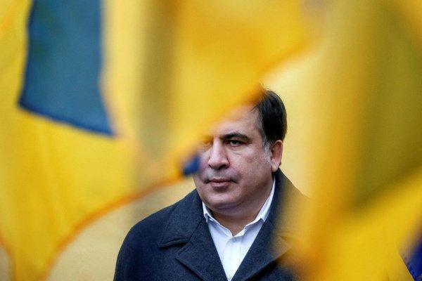 Михаил Саакашвили оказался в центре антисемитского скандала.