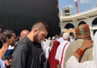 Хабиб Нурмагомедов опубликовал фото из Запретной мечети
