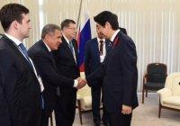 Синдзо Абэ: визит Рустама Минниханова – пример дружбы между Японией и Россией
