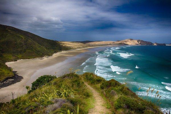 Новая Зеландия располагается в зоне столкновения между Тихоокеанской и Индо-Австралийской тектоническими плитами