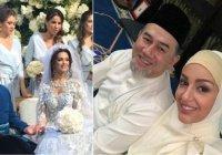 Король Малайзии женился на «Мисс Москва»