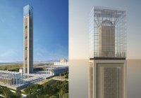 Вы думали это небоскреб? Нет, это 37-этажный минарет мечети!