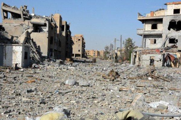 Ракка оказалась практически стертой с лица земли.