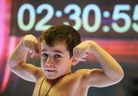 5-летний чеченец побил мировой рекорд по отжиманиям