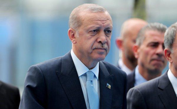 Эрдоган предложил посредничество Турции поинциденту вКерченском проливе