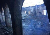 В Дагестане восстановят сгоревшую мечеть XIX века