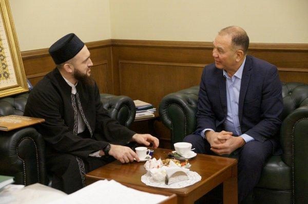 Встреча состоялась в муфтияте Татарстана.