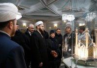Муфтий показал делегации из Финляндии мечеть «Кул Шариф»