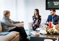 Бывшая рабыня ИГИЛ встретилась с Ангелой Меркель
