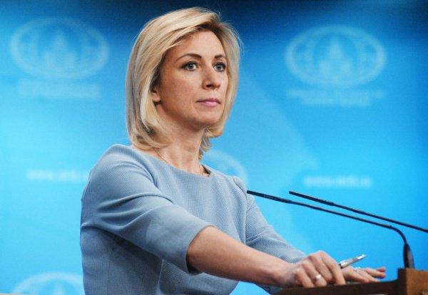 Натри слова: Захарова хлестко ответила напровокацию Порошенко