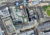 На Google Картах нашли свастику
