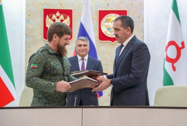 Соглашение главы двух республик подписали в конце сентября.