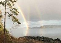 Аномальную радугу запечатлели в США (ФОТО)