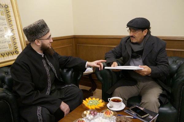 Камиль Самигуллин на встрече с гостем в ДУМ РТ.