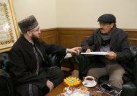 Советник Всемирной организации Куръана и Сунны посетил ДУМ РТ