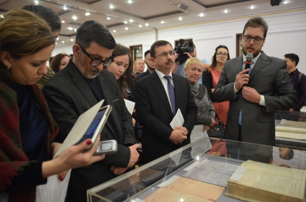 Открытие выставки-презентации документов «Шигабутдин Марджани и его наследие»