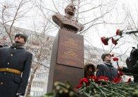 Бюст Герою России, погибшему в Сирии, открылся в Казани