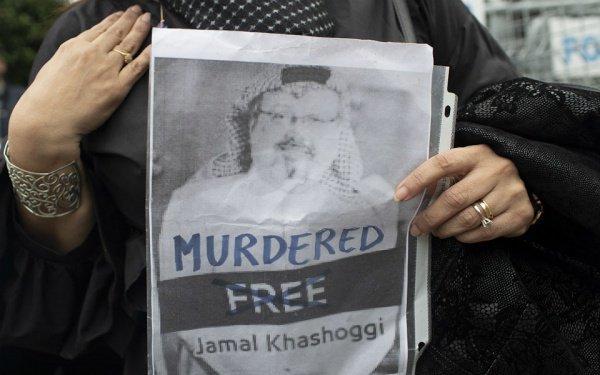 Джамаль Хашкаджи был убит 2 октября.