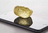 Алмаз размером с куриное яйцо обнаружен в Канаде