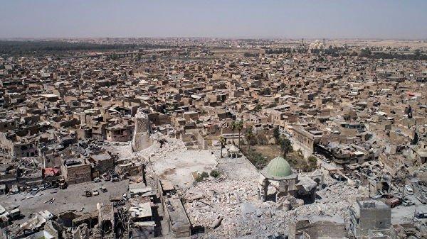 Боевики ИГИЛ полностью разрушили древнюю мечеть.