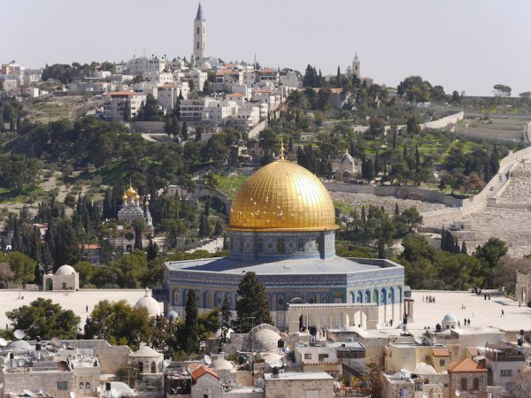Вопрос статуса Иерусалима считается корнем проблем на Ближнем Востоке.