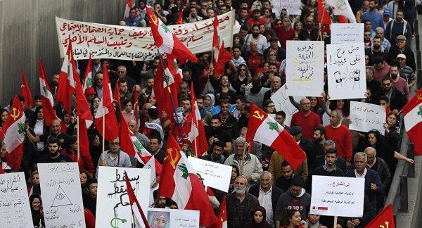 В Ливане прошли антиправительственные митинги.