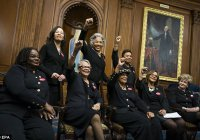 В США женщин-законодателей впервые оказалось больше, чем мужчин