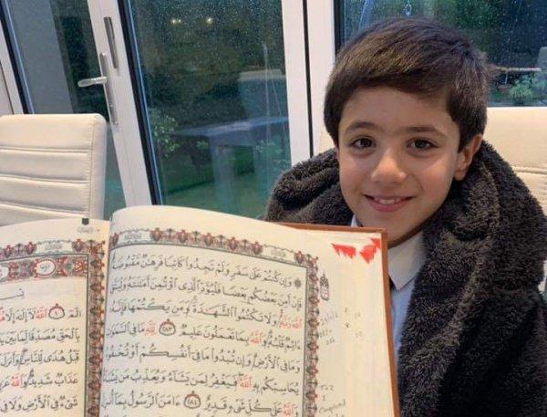 7-летний мальчик из Англии выучил Коран всего за два года