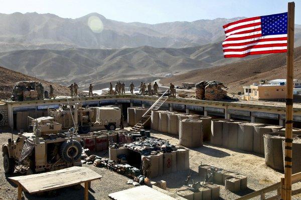 Новая военная база США появилась в Ираке.